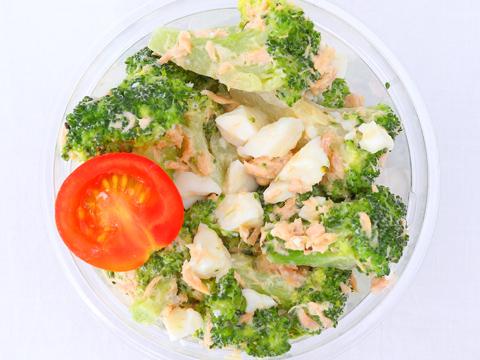 ブロッコリーと卵のツナサラダ