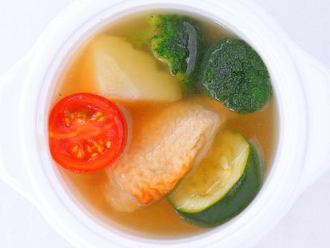 チキンジンジャースープ